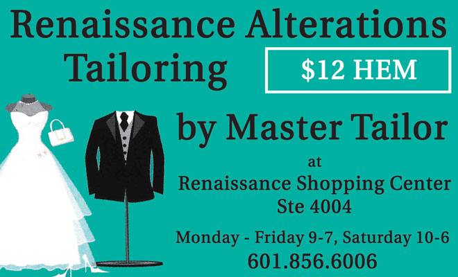 Renaissance Alterations & Tailoring - Jackson MS area